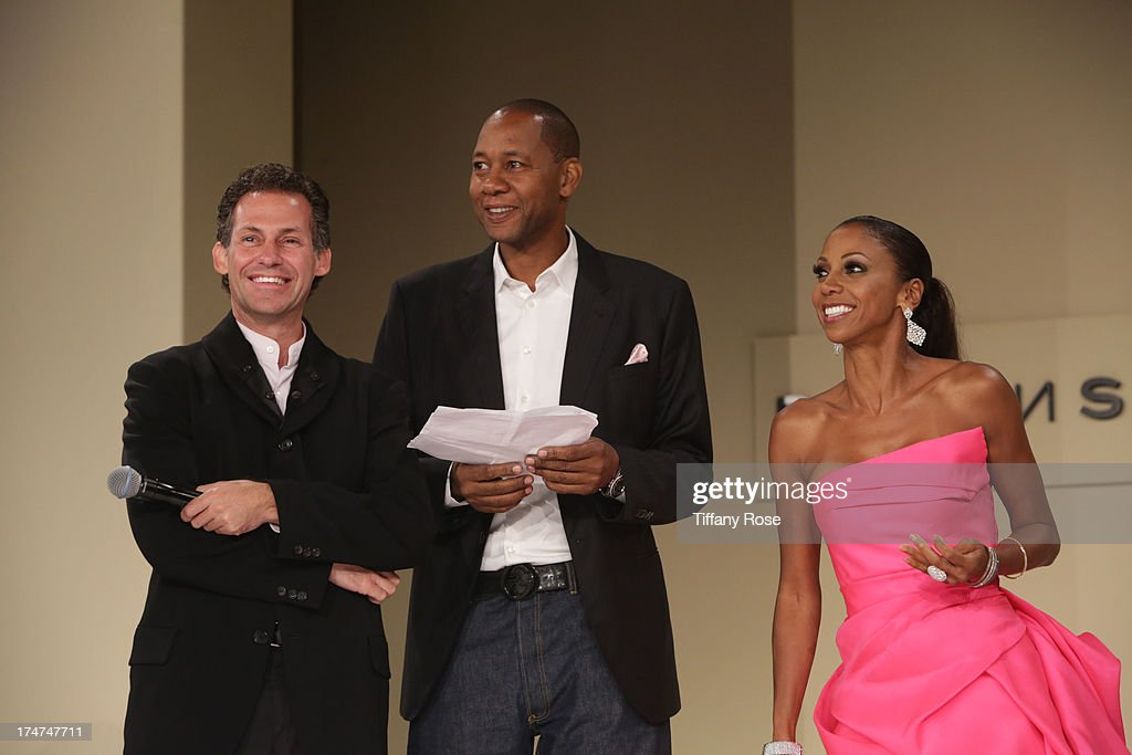 Gavin Keilly, Mark Curry and Holly Robinson Peete attend the 15th Annual DesignCare benefiting The HollyRod Foundation on July 27, 2013 in Malibu, California.