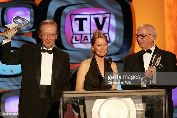 Gavin MacLeod Bernie Kopell and Cheryl Ladd during The TV Land Awards Celebration of Classic TV at Hollywood Palladium in Hollywood CA United States