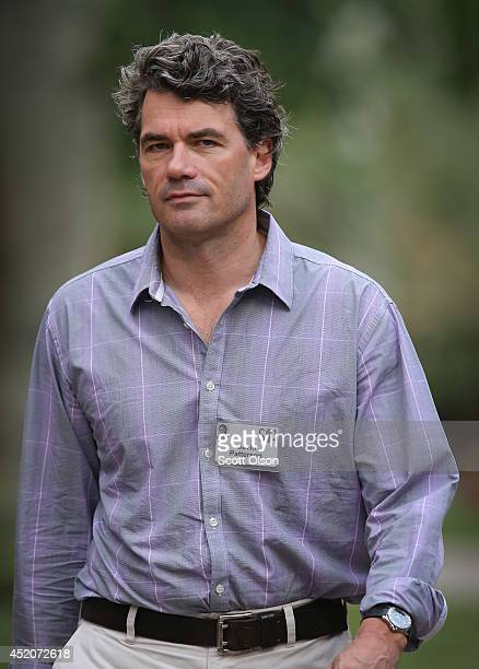 Gavin Patterson chief executive officer of BT Group Plc attends the annual Allen and Company Sun Valley Conference at the Sun Valley Resort on July...