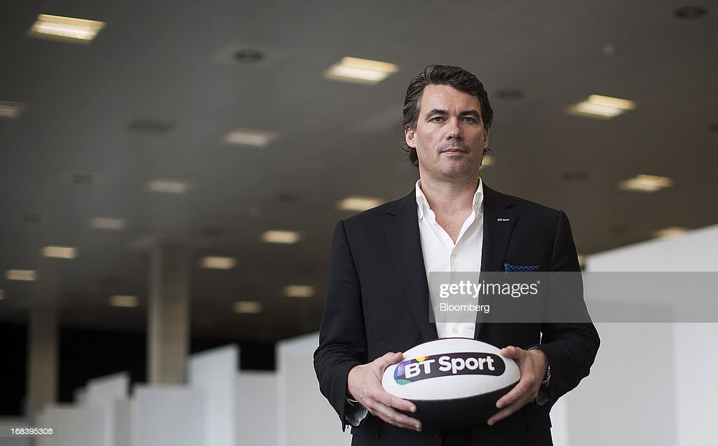 Gavin Patterson, head of BT Retail at BT Group Plc, poses for a photograph during the launch of the company's new sports television channel BT Sport in London, U.K., on Thursday, May 9, 2013. British Sky Broadcasting Group Plc, the U.K.'s largest pay-TV broadcaster, fell the most in almost a year after BT Group Plc unveiled sports channels to compete with the Rupert Murdoch-controlled satellite operator. Photographer: Simon Dawson/Bloomberg via Getty Images