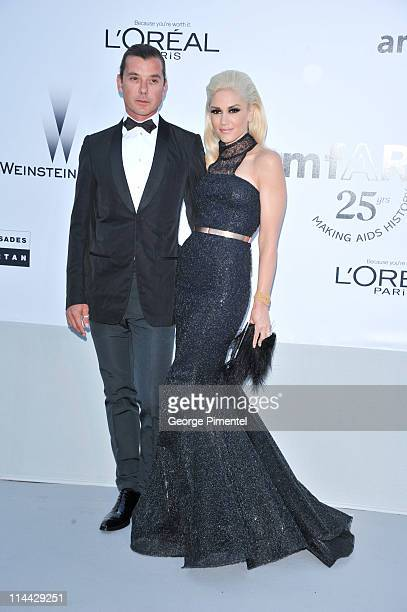 Gavin Rossdale and Gwen Stefani attend amfAR's Cinema Against AIDS Gala during the 64th Annual Cannes Film Festival at Hotel Du Cap on May 19 2011 in...