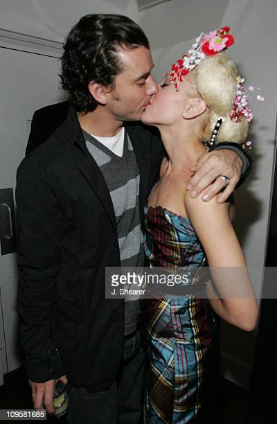 Gavin Rossdale and Gwen Stefani during Interscope Records Album Release Party for Gwen Stefani's 'Love Angel Music Baby' Inside at The Standard Hotel...