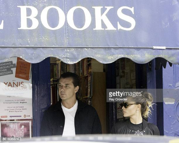 Gavin Rossdale and Sophie Thomalla seen out in Primrose Hill on October 15 2017 in London England