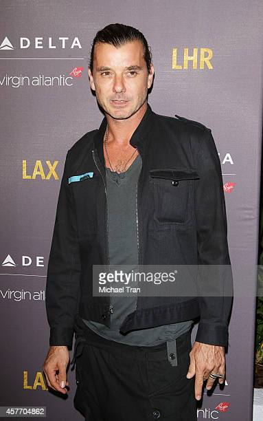 Gavin Rossdale arrives at Delta Air Lines and Virgin Atlantic celebrate nonstop route between LAX and Heathrow Airports held at The London Hotel on...