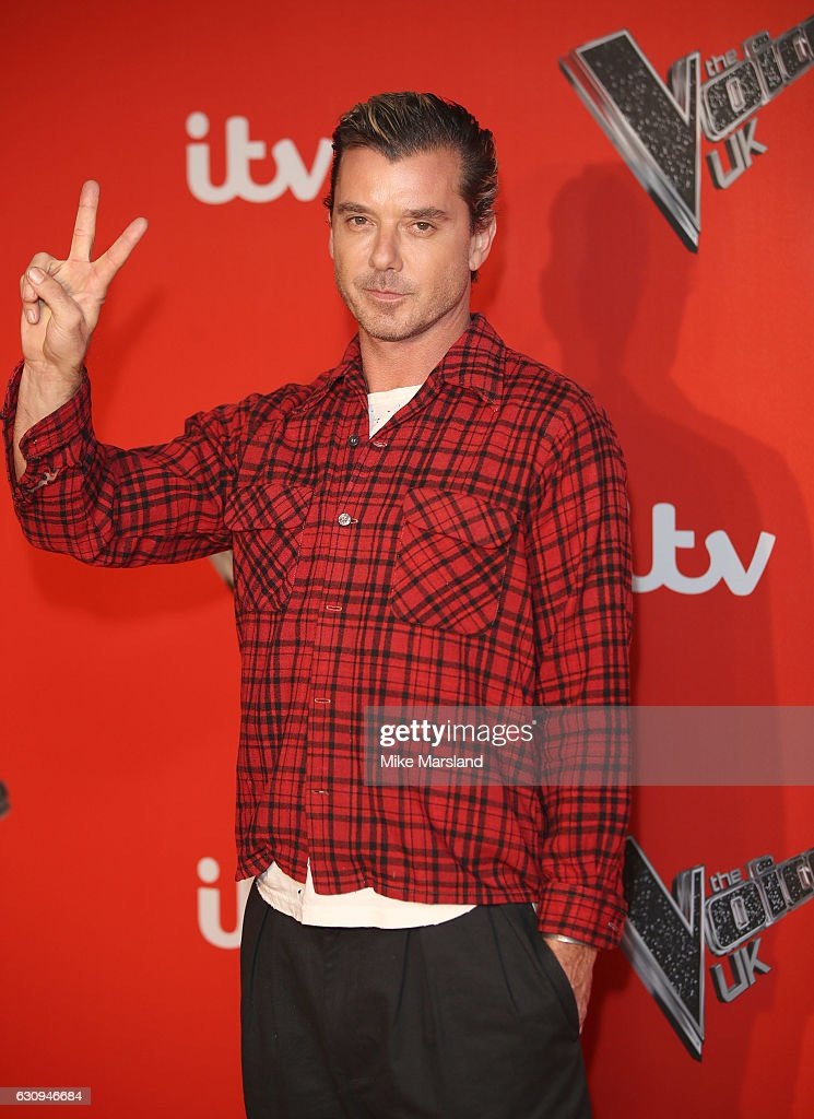 Gavin Rossdale arrives for the press launch of The Voice UK at Millbank Tower on January 4, 2017 in London, England.