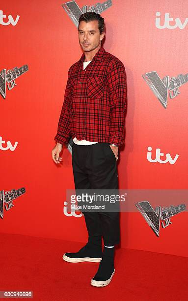 Gavin Rossdale arrives for the press launch of The Voice UK at Millbank Tower on January 4 2017 in London England