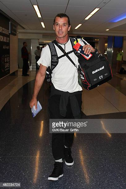 Gavin Rossdale is seen at LAX on July 28 2015 in Los Angeles California