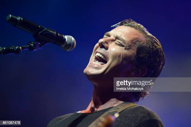 Gavin Rossdale of Bush performs at O2 Forum Kentish Town on September 21 2017 in London England