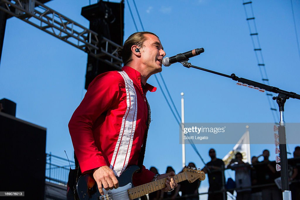 Gavin Rossdale of Bush performs during 2013 Rock On The Range at Columbus Crew Stadium on May 19, 2013 in Columbus, Ohio.