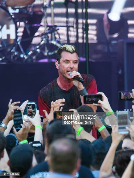 Gavin Rossdale of music band 'Bush' is seen at 'Jimmy Kimmel Live' on May 22 2017 in Los Angeles California