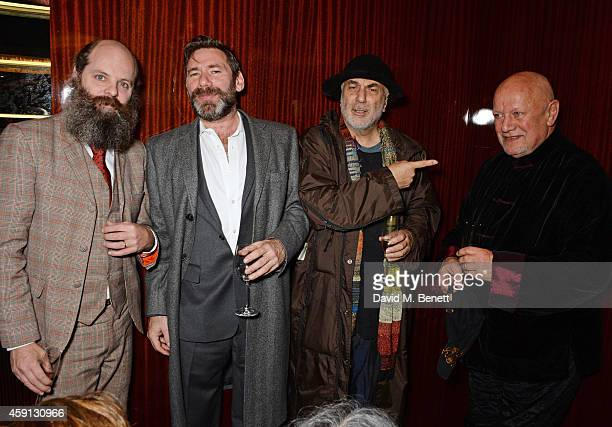 Gavin Turk Mat Collishaw Ron Arad and Steven Berkoff attend the Liberatum Cultural Honour for Francis Ford Coppola at The Bulgari Hotel on November...