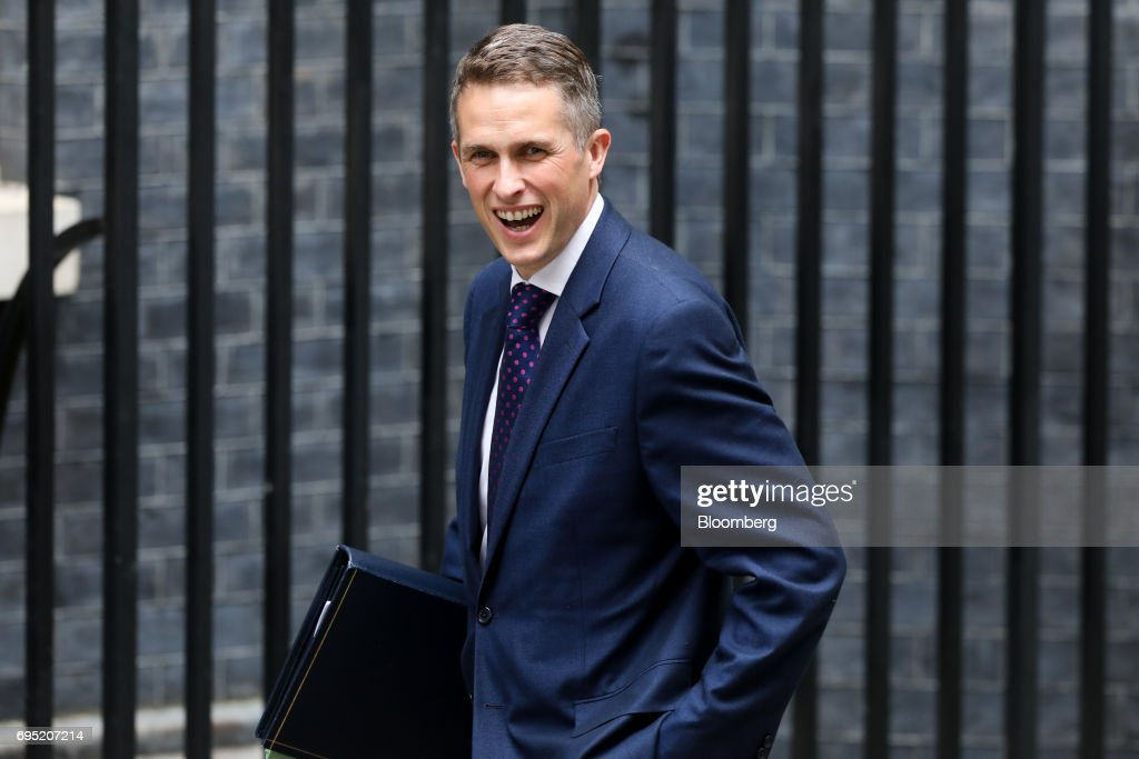 U.K. Cabinet Ministers Attend First Meeting Of New Government