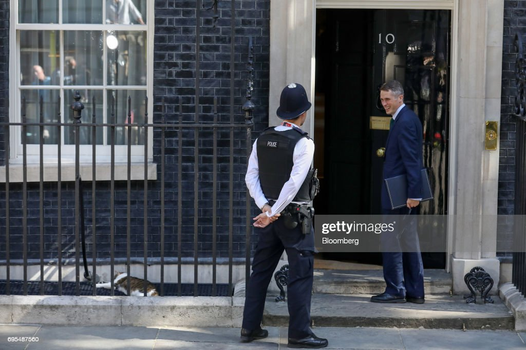 U.K. Cabinet Ministers Attend Their Weekly Meeting