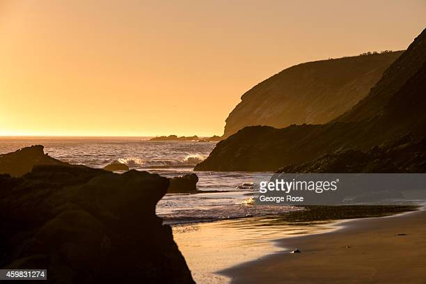 Gaviota State Beach located north of downtown is viewed at sunset on November 26 in Santa Barbara California Because of its close proximity to...