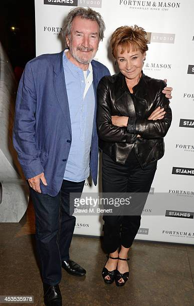 Gawn Grainger and Zoe Wanamaker attend an after party celebrating the press night performance of 'Celia Imrie Laughing Matters' at the St James...