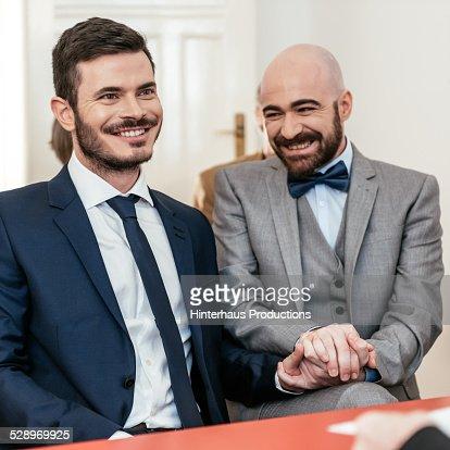Couple during wedding
