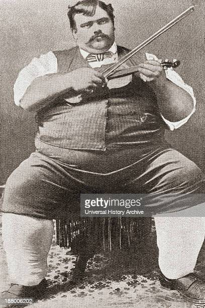 Gay Jewel 1863 Nicknamed Jumbo Was The Heaviest Man Alive In 1899 Weighing 53 St 6Lb And Measuring 6Ft 4In In Height From The Strand Magazine...