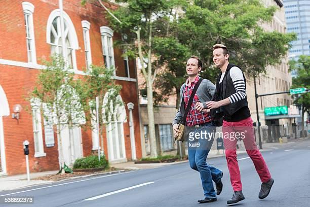 Gay men in der Stadt
