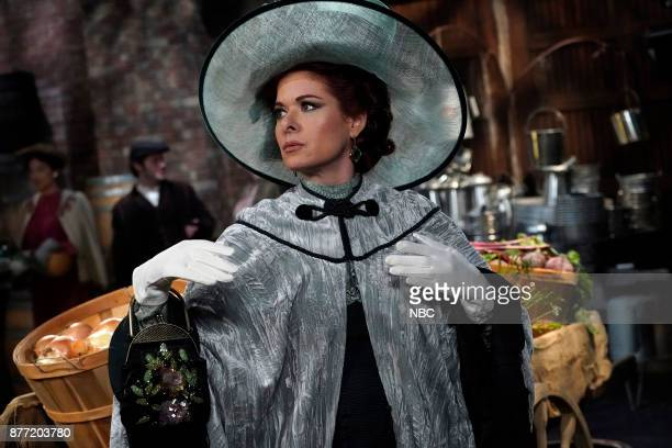 WILL GRACE 'A Gay Olde Christmas' Episode 109 Pictured Debra Messing as Fanny Van Williams