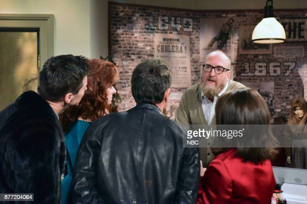 WILL GRACE 'A Gay Olde Christmas' Episode 109 Pictured Sean Hayes as Jack McFarland Debra Messing as Grace Adler Eric McCormack as Will Truman Brian...