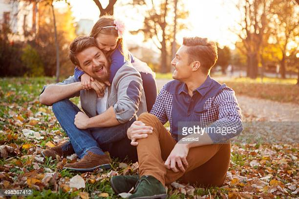 Gay Parents with daughter