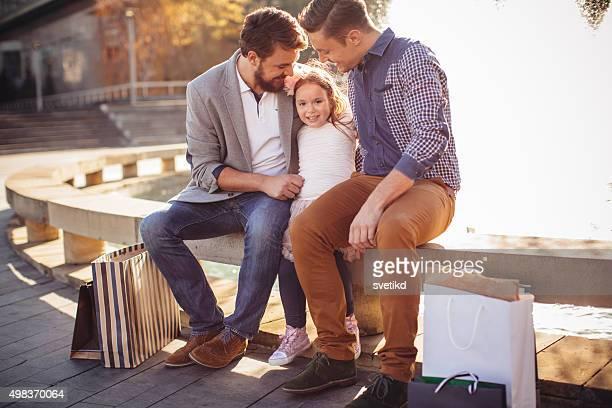 Gay Parents avec fille