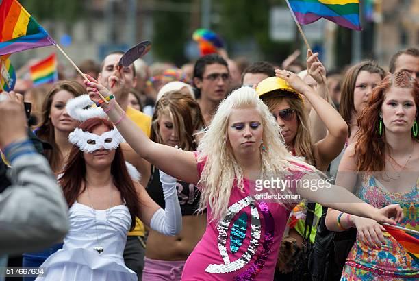 Homosexuell stolz Umzug stockholm, Schweden