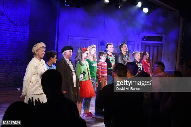 Gay Soper Amir Wilson Barry James Asha Banks Kelly Price Benjamin Lewis Dean Chisnall John Hopkins Connor Davies and Lara Denning perform during the...