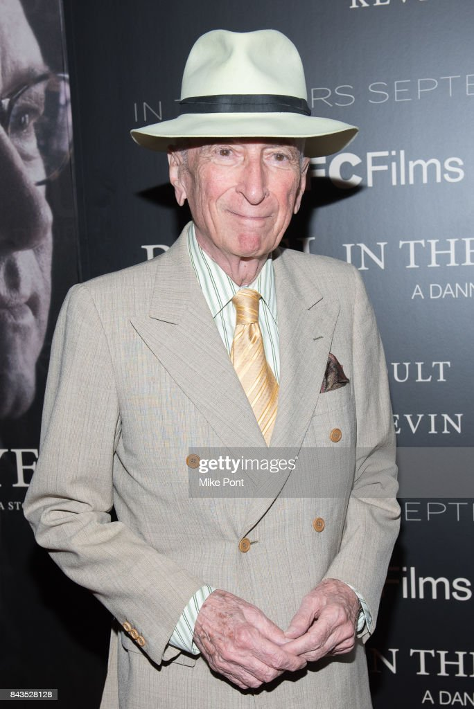 Gay Talese attends the 'Rebel in the Rye' New York Premiere at Metrograph on September 6, 2017 in New York City.
