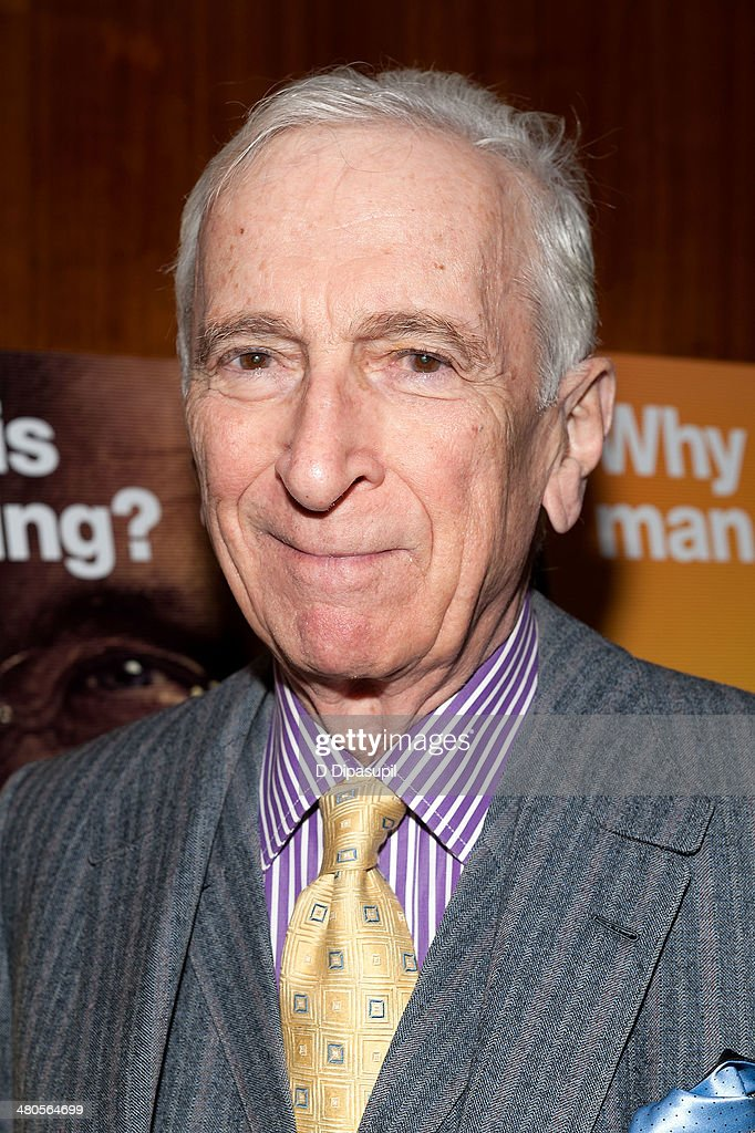 <a gi-track='captionPersonalityLinkClicked' href=/galleries/search?phrase=Gay+Talese&family=editorial&specificpeople=224015 ng-click='$event.stopPropagation()'>Gay Talese</a> attends 'The Unknown Known' screening at the Museum Of Arts And Design on March 25, 2014 in New York City.