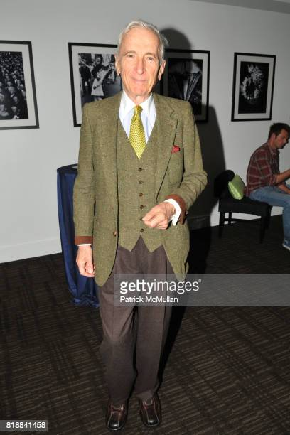 Gay Talese attends TIME INC Live and Unfiltered Presents ROUGH JUSTICE Hosted by FORTUNE at Time and Life Building Screening Room on April 26 2010 in...