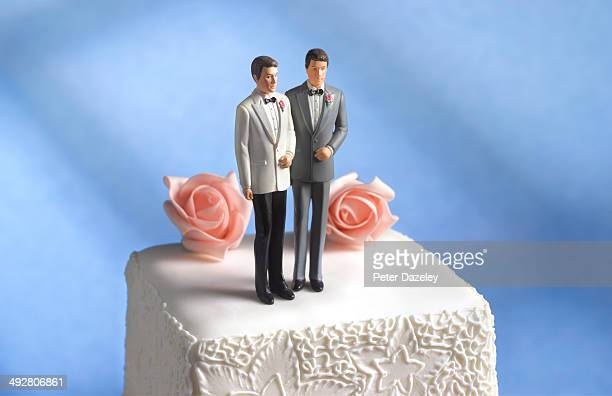 Gay wedding cake figurine