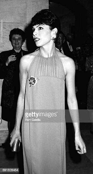 Gayfryd Steinberg attends A Decade of Literary Lions Benefit Gala on November 8 1990 at the New York Public Library in New York City