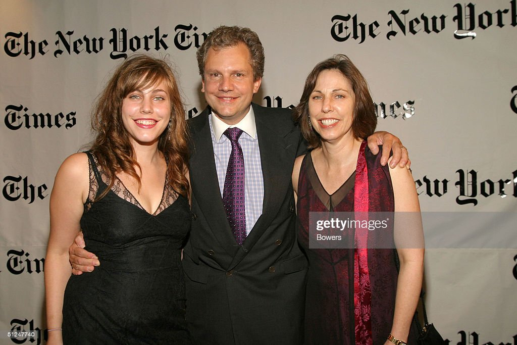 Gayle Gregg Arthur Sulzberger and Annie Sulzberger attend a party hosted by Arthur O Sulzberger Jr publisher of the New York Times at the Frederick P...