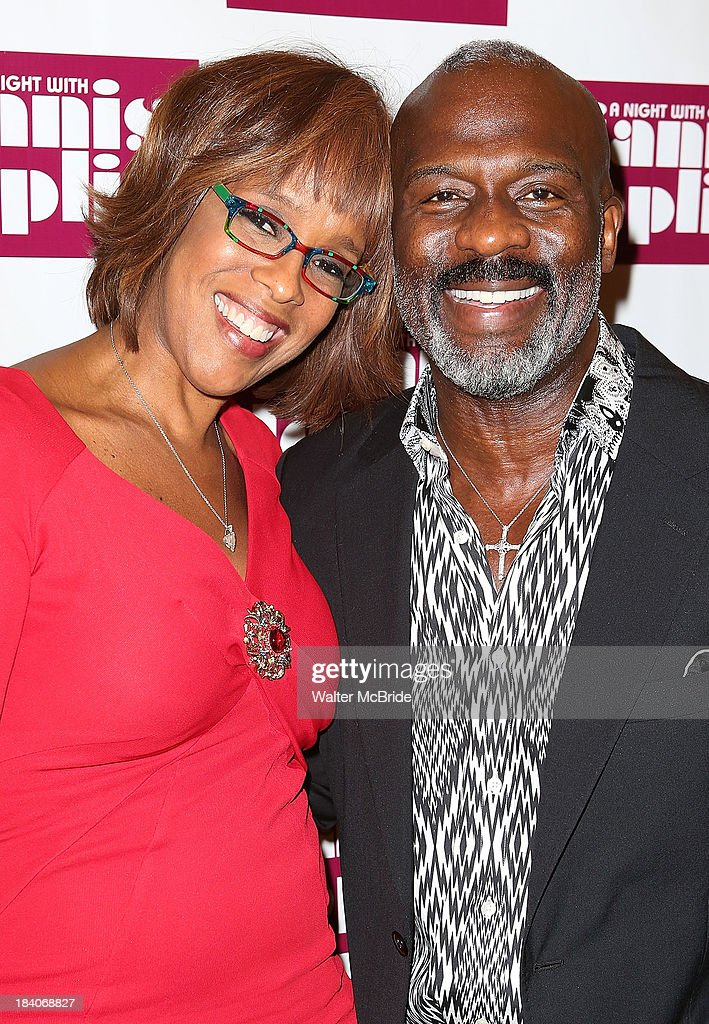 Gayle King and Bebe Winans attend the broadway opening night of 'A Night With Janis Joplin' at Lyceum Theatre on October 10, 2013 in New York City.