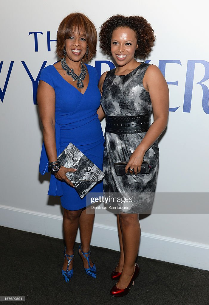 <a gi-track='captionPersonalityLinkClicked' href=/galleries/search?phrase=Gayle+King&family=editorial&specificpeople=215469 ng-click='$event.stopPropagation()'>Gayle King</a> and daughter Kirby Bumpus attend The New Yorker's David Remnick Hosts White House Correspondents' Dinner Weekend Pre-Party at W Hotel Rooftop on April 26, 2013 in Washington, DC.