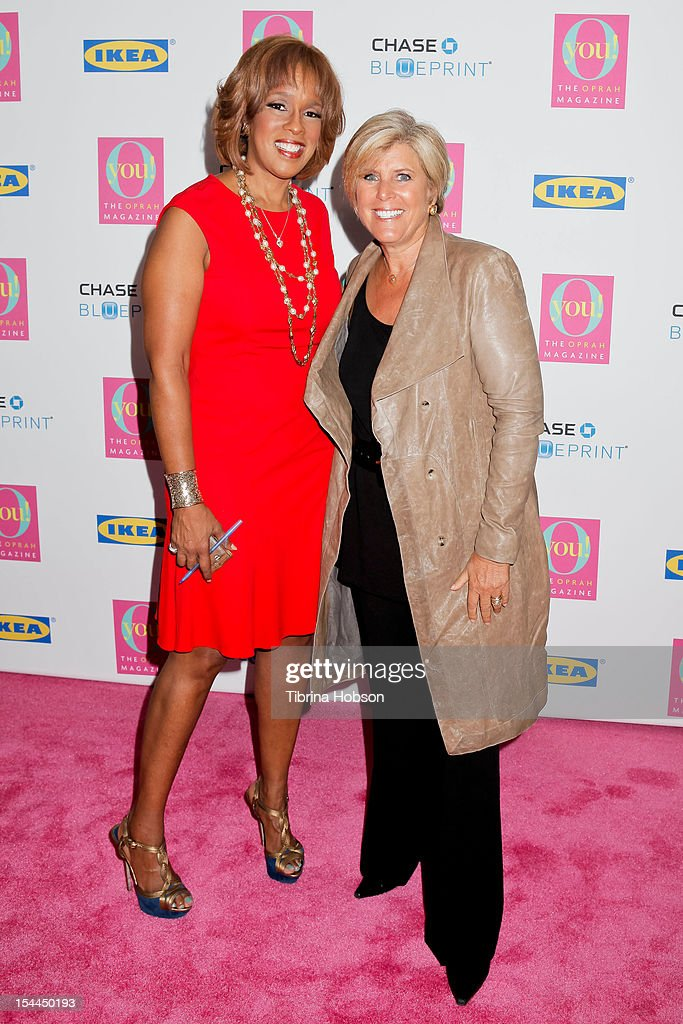 <a gi-track='captionPersonalityLinkClicked' href=/galleries/search?phrase=Gayle+King&family=editorial&specificpeople=215469 ng-click='$event.stopPropagation()'>Gayle King</a> and <a gi-track='captionPersonalityLinkClicked' href=/galleries/search?phrase=Suze+Orman&family=editorial&specificpeople=556123 ng-click='$event.stopPropagation()'>Suze Orman</a> attend Oprah Winfrey's O You! 2012 at Los Angeles Convention Center on October 20, 2012 in Los Angeles, California.