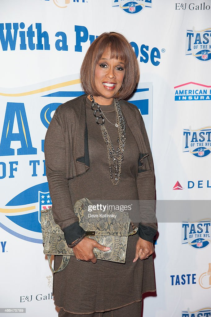 <a gi-track='captionPersonalityLinkClicked' href=/galleries/search?phrase=Gayle+King&family=editorial&specificpeople=215469 ng-click='$event.stopPropagation()'>Gayle King</a> arrives at Brooklyn Cruise Terminal on February 1, 2014 in New York City.