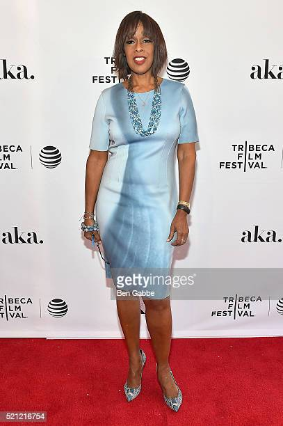 Gayle King at Tribeca Tune In 'Grace And Frankie' 2016 Tribeca Film Festival at SVA Theatre 1 on April 14 2016 in New York City