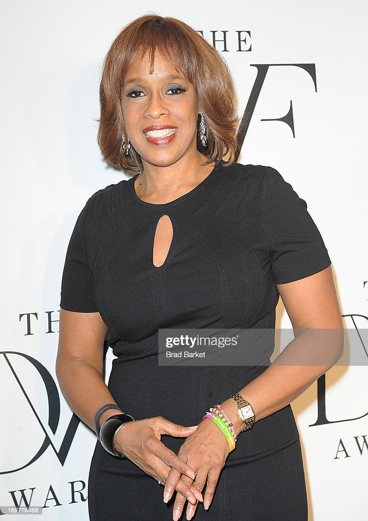 Gayle King attends 2013 DVF Awards at United Nations on April 5, 2013 in New York City.