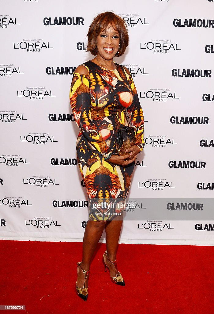 Gayle King attends Glamour's 23rd annual Women of the Year awards on November 11, 2013 in New York City.