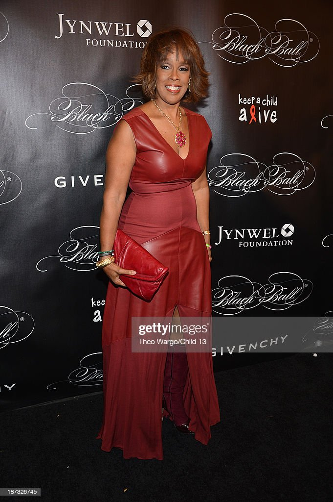 <a gi-track='captionPersonalityLinkClicked' href=/galleries/search?phrase=Gayle+King&family=editorial&specificpeople=215469 ng-click='$event.stopPropagation()'>Gayle King</a> attends Keep A Child Alive's 10th Annual Black Ball at Hammerstein Ballroom on November 7, 2013 in New York City.