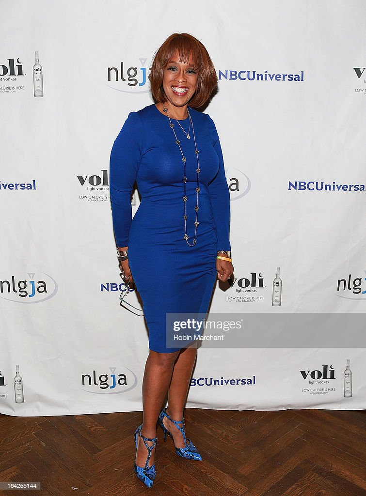 Gayle King attends National Lesbian And Gay Journalists Association 18th Annual New York Benefit on March 21, 2013 in New York, United States.
