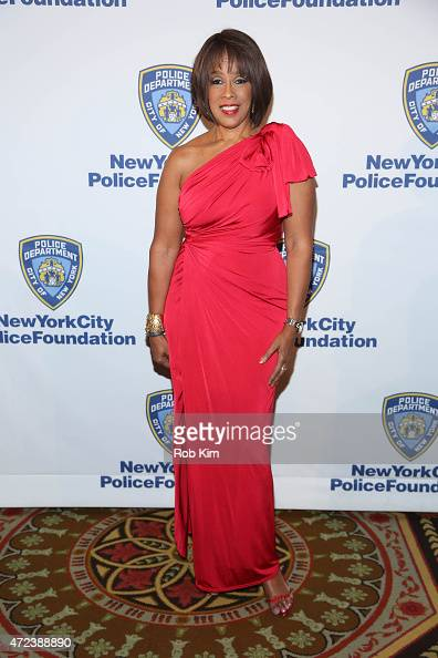 Gayle King attends New York City Police Foundation's 2015 Gala at The Waldorf=Astoria on May 6 2015 in New York City