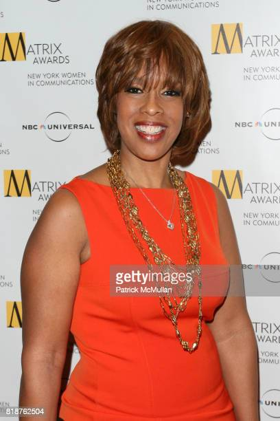 Gayle King attends New York WOMEN IN COMMUNICATIONS Presents The 2010 MATRIX AWARDS at Waldorf Astoria on April 19 2010 in New York City