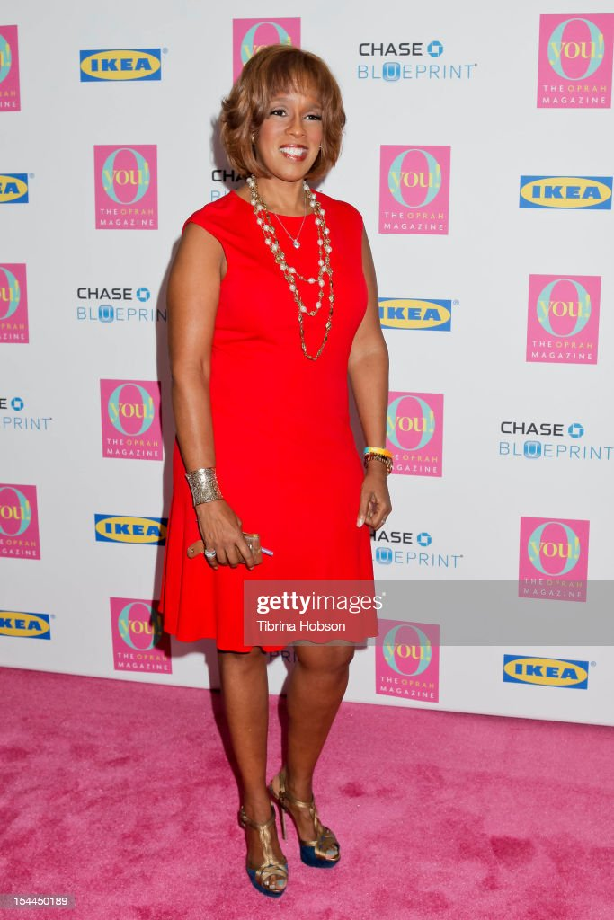 <a gi-track='captionPersonalityLinkClicked' href=/galleries/search?phrase=Gayle+King&family=editorial&specificpeople=215469 ng-click='$event.stopPropagation()'>Gayle King</a> attends Oprah Winfrey's O You! 2012 at Los Angeles Convention Center on October 20, 2012 in Los Angeles, California.