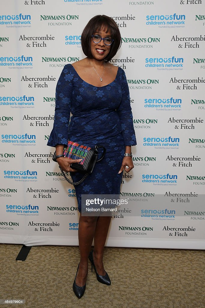Gayle King attends SeriousFun Children's Network 2015 New York Gala: An Evening of SeriousFun Celebrating the Legacy of Paul Newman at Avery Fisher Hall at Lincoln Center for the Performing Arts on March 2, 2015 in New York City.