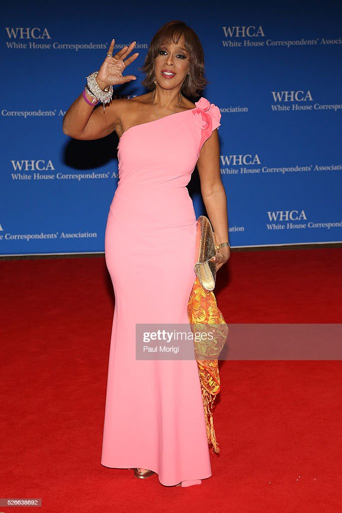 Gayle King attends the 102nd White House Correspondents' Association Dinner on April 30, 2016 in Washington, DC.