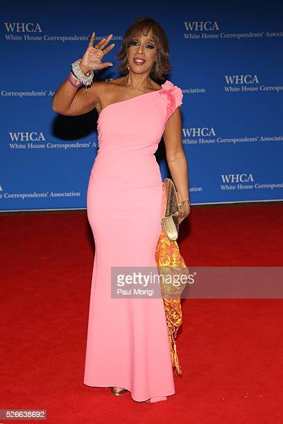 Gayle King attends the 102nd White House Correspondents' Association Dinner on April 30 2016 in Washington DC