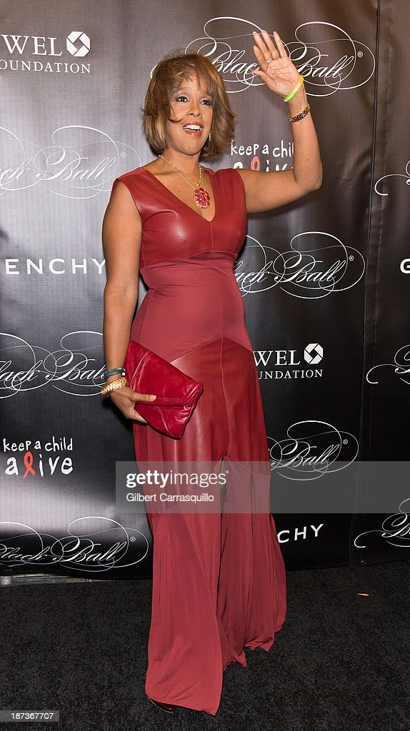 Gayle King attends the 10th annual Keep A Child Alive Black Ball at Hammerstein Ballroom on November 7, 2013 in New York City.